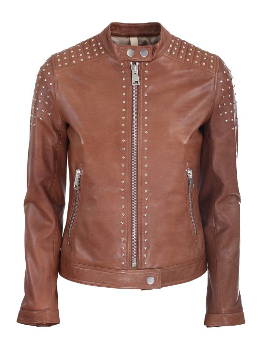 Unfleur leather jacket