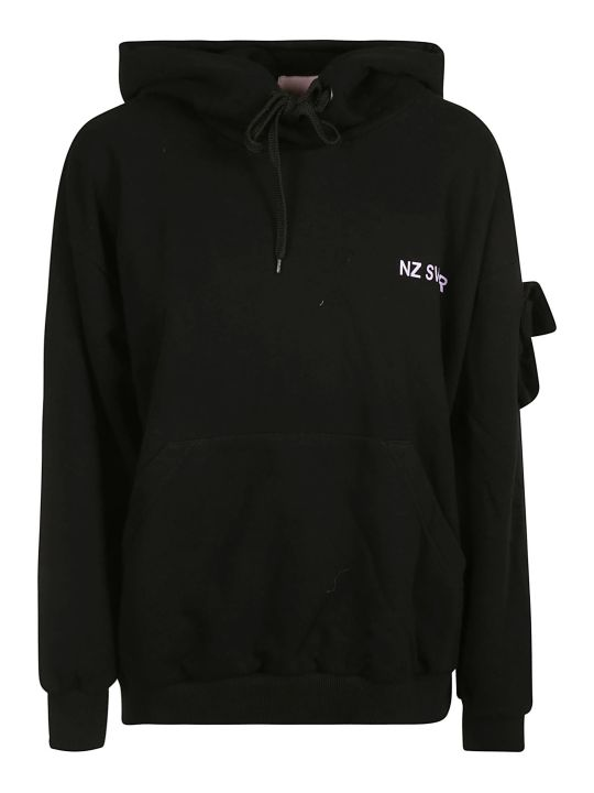 Natasha Zinko Cotton-hooded Sweatshirt
