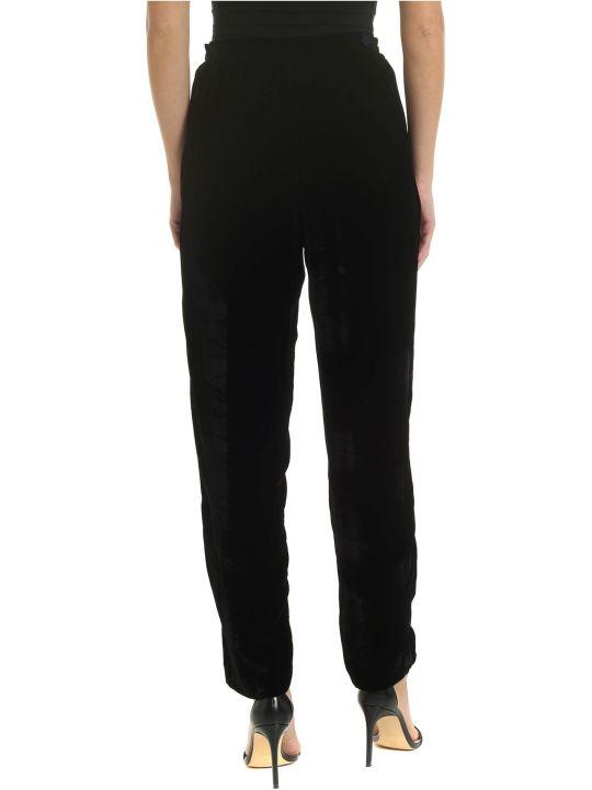 Ballantyne Black Velur Trousers