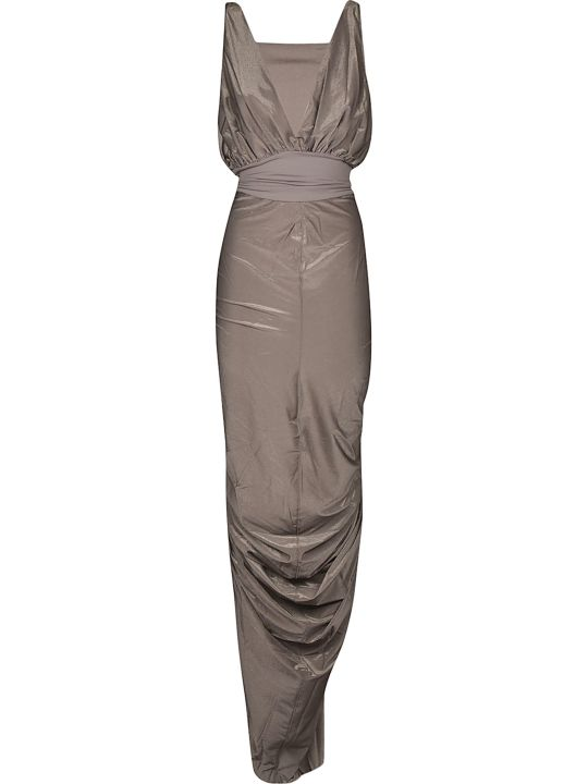 Rick Owens Lilies Sleeveless Gown Dress