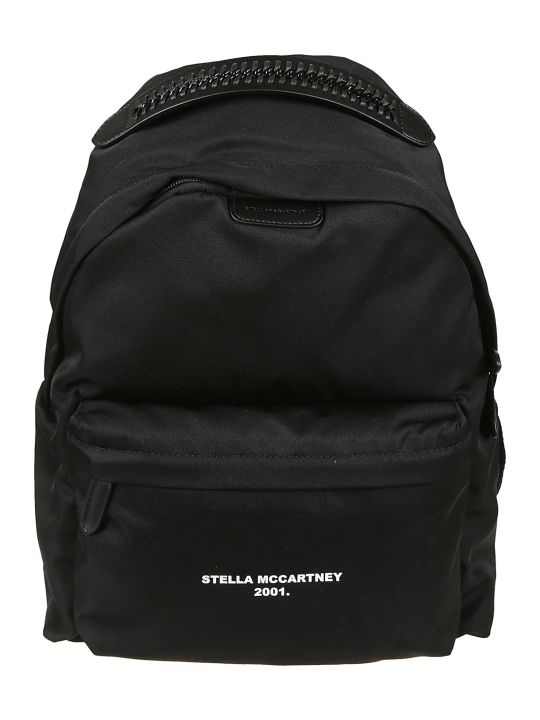 Stella McCartney Logo Print Backpack