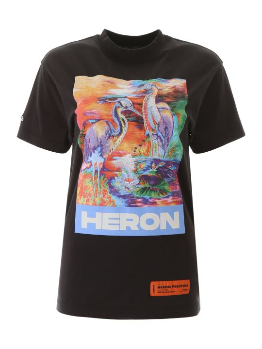 HERON PRESTON Heron Birds T-shirt