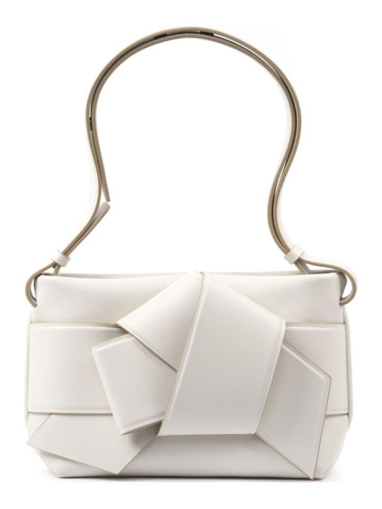 Acne Studios White Musubi Leather Bag