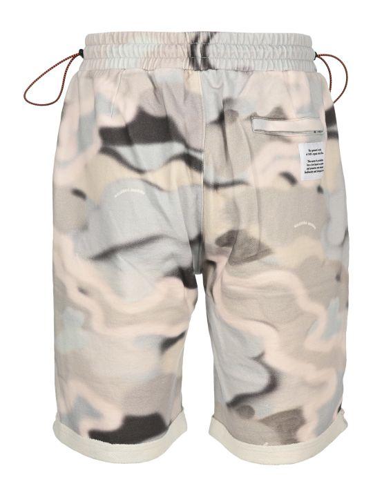 HERON PRESTON Camouflage Print Track Shorts