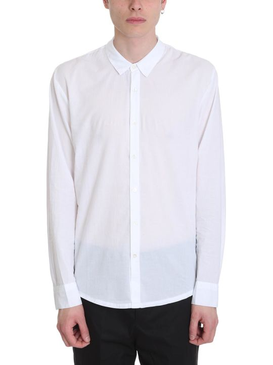 James Perse White Cotton Shirt