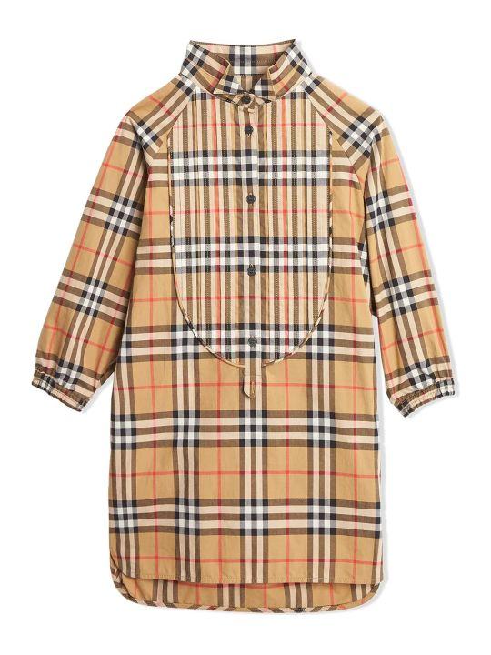 Burberry Vintage Check Cotton Shirt Dress