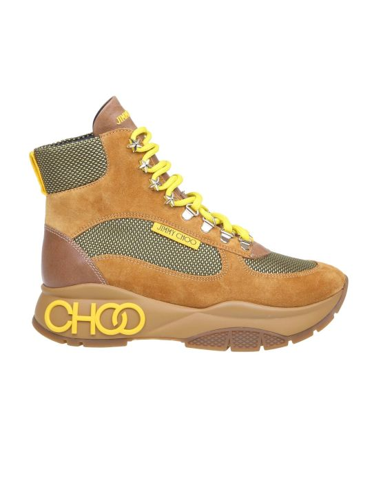 Jimmy Choo Sneakers Inca Leather And Fabric Color Leather