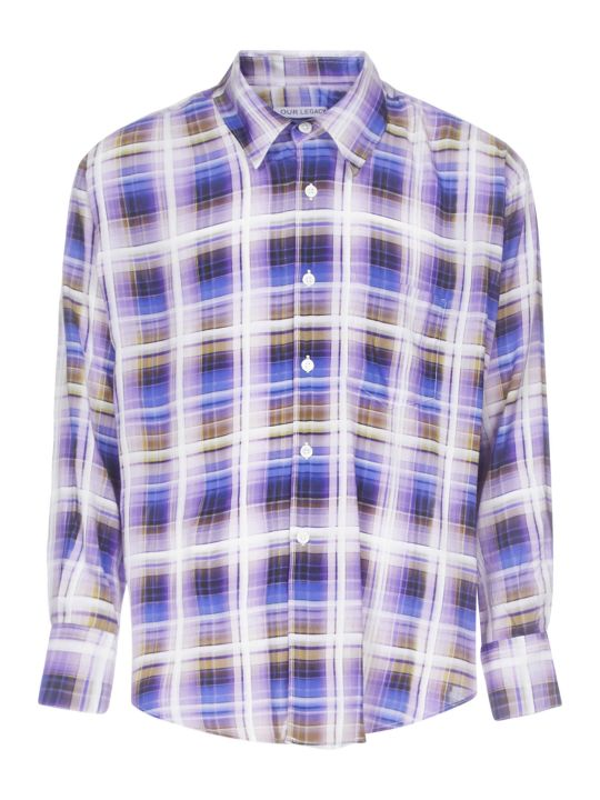 Our Legacy Static Tv Check Shirt