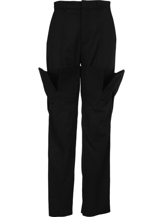 Y/Project Oversized-pocket Straight Trousers