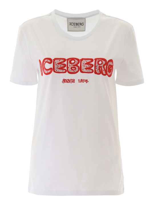 Iceberg Crystal Logo T-shirt