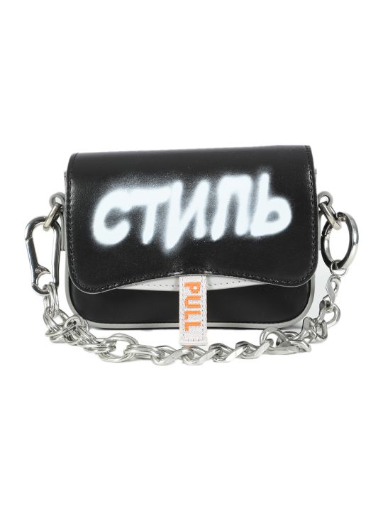HERON PRESTON Mini Canal Bag Ctnmb