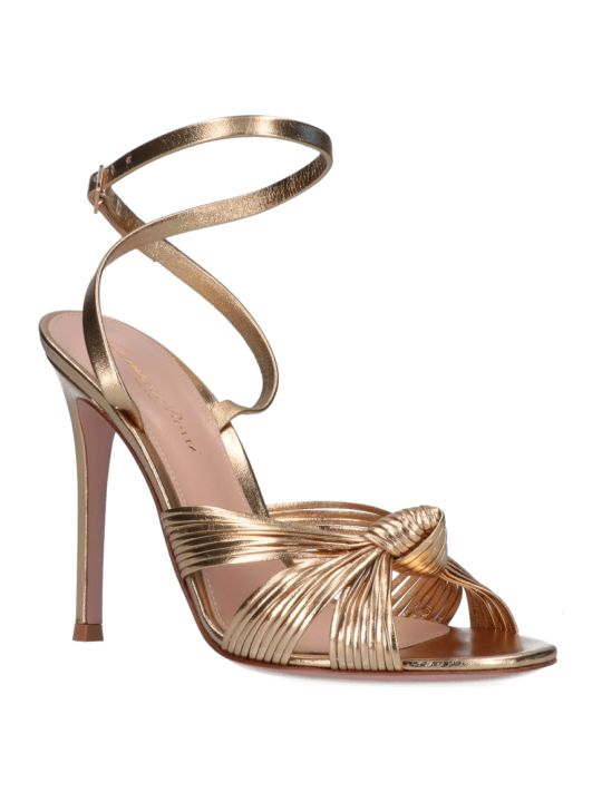 Gianvito Rossi Front Knot Sandals