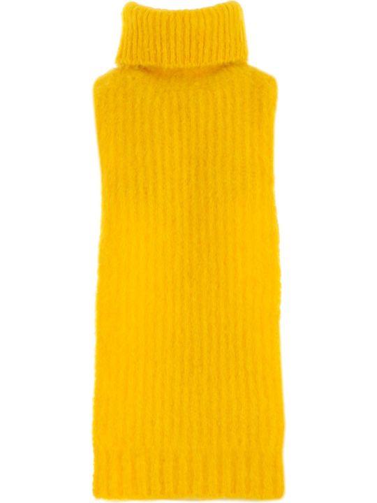 SEMICOUTURE Plastron W/scarf On Neck