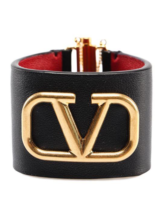 Valentino Garavani Logo Bracelet