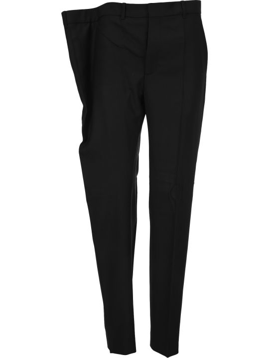 Y/Project Asymmetric Waist Tailored Trousers