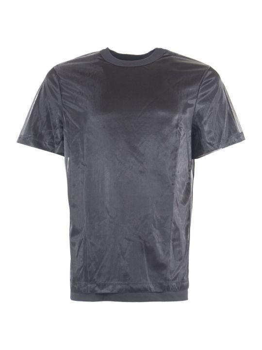 Helmut Lang Black Cotton Blend T-shirt