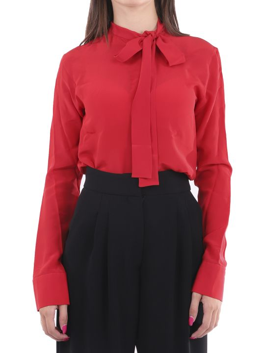 Haider Ackermann Red Shirt