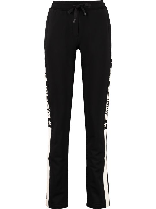 Dolce & Gabbana Side Logo Stripe Track-pants
