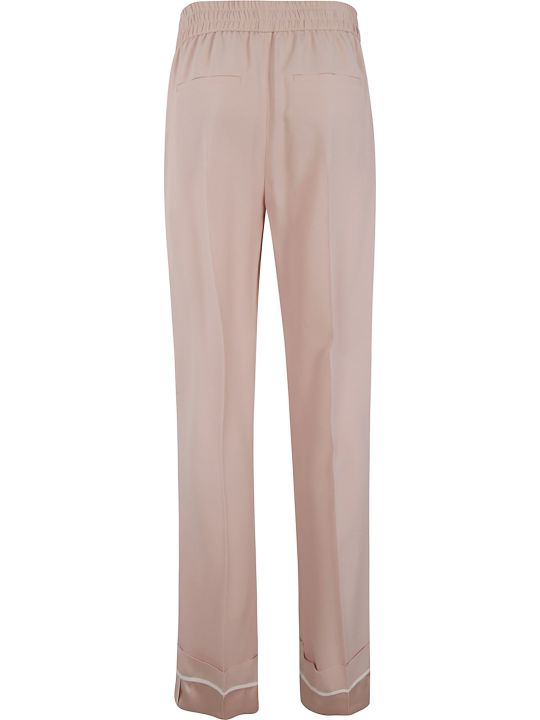 RED Valentino Ribbed Waist Drawstring Trousers