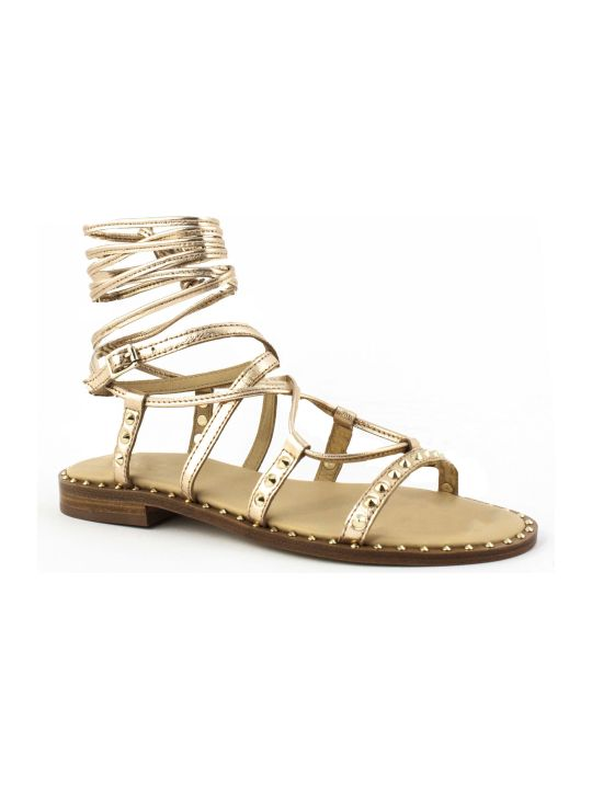 Ash Copper-tone Princess Sandals