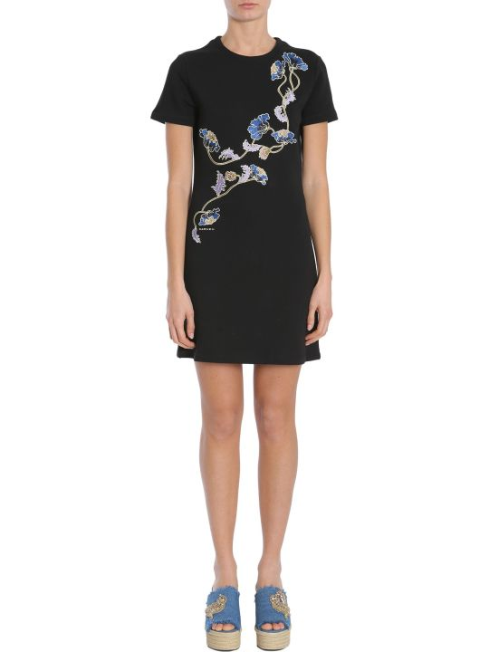 Carven Short Sleeve Dress