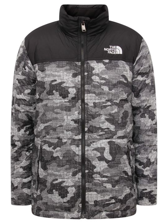 The North Face Colorful Boy Jacket With Whiite Logo