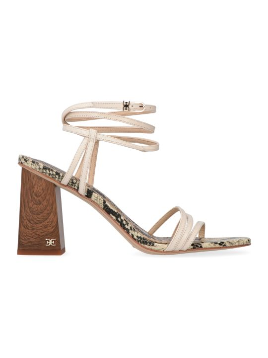 Sam Edelman Doriss Heeled Leather Sandals