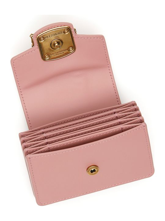Dolce & Gabbana Leather Dg Amore Cardholder