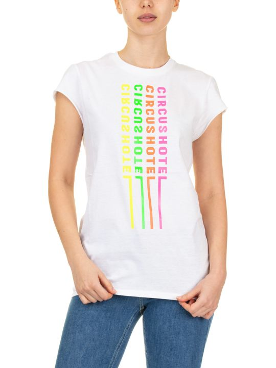Circus Hotel T-shirt Logo Neon