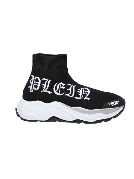 Philipp Plein Sneakers Hi-top Gothic Plein In Nylon