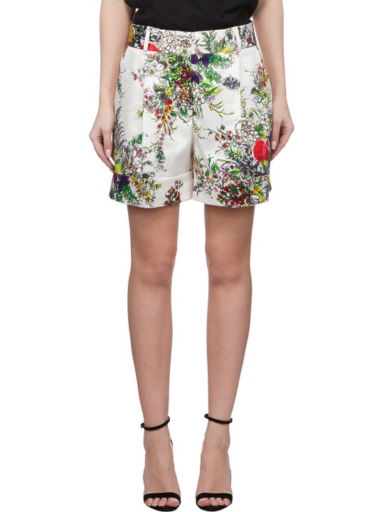 Blumarine Floral Print Shorts