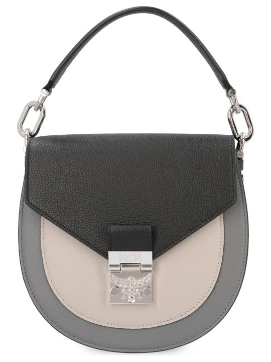 MCM Patricia Color Block Crossbody Bag