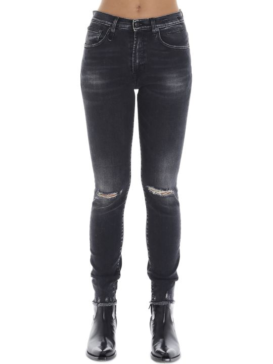 R13 'high Rise Skinny' Jeans
