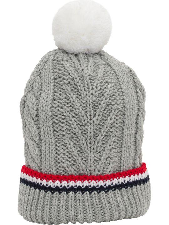 Thom Browne Aran Knitted Beanie