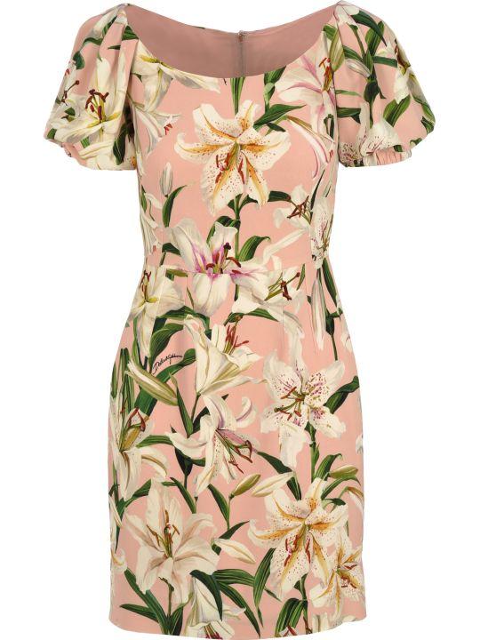 Dolce & Gabbana Dolce&gabbana Lily Print Dress