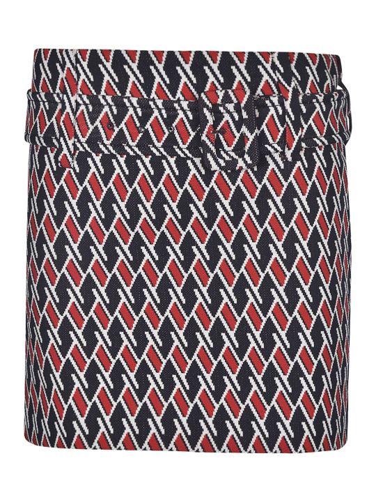 Prada Belted Waist Skirt