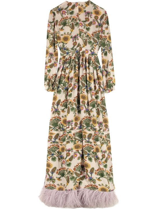 La DoubleJ Pemberley Floral Print Long Dress