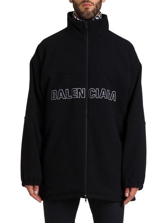 Balenciaga Oversuized Jacket With Logo