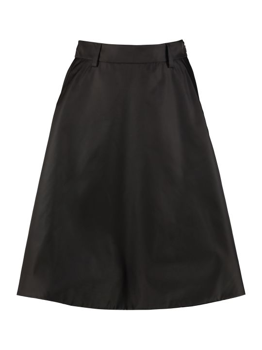 Prada Technical Fabric Skirt