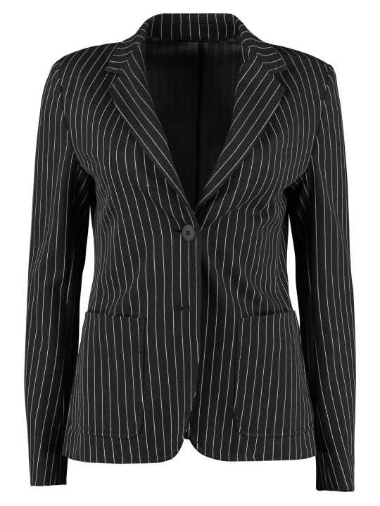 Max Mara Studio Fosca Single-breasted Two-button Blazer