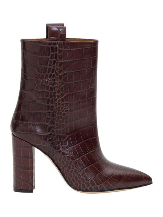 Paris Texas Moc Croco Ankle Boots