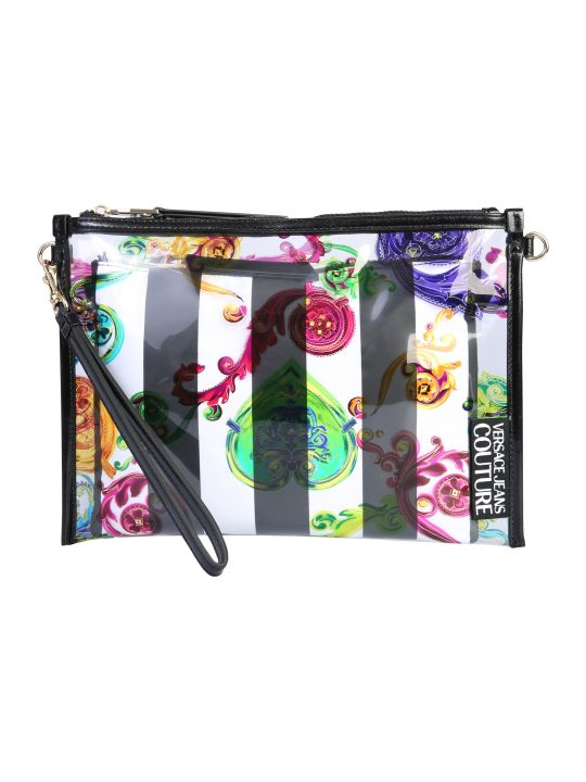Versace Jeans Couture Pouch With Shoulder Strap And Logo