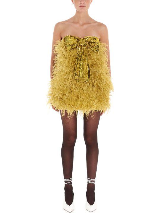 The Attico 'ostrich' Dress