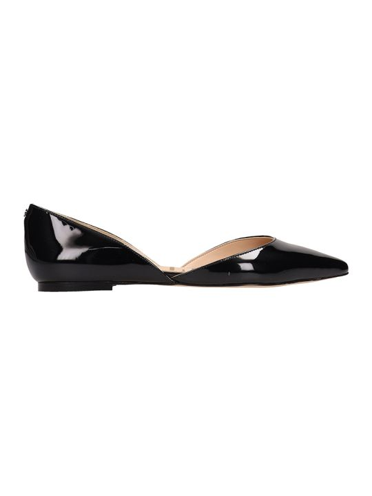 Sam Edelman Black Patent Leather Rodney Ballarinas