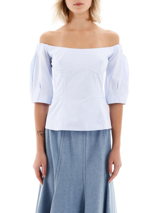 Gabriela Hearst Melanie Off-shoulder Top