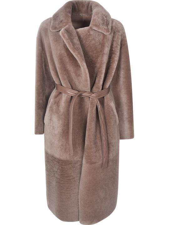 Blancha Belted Long Coat