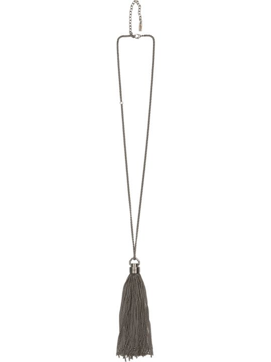 Saint Laurent Tassel Necklace