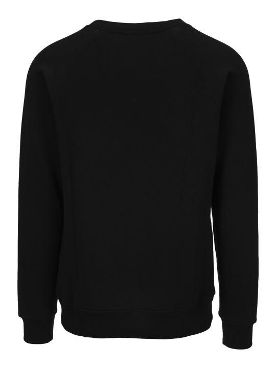 Balmain Silver Balmain Logo Sweatshirt