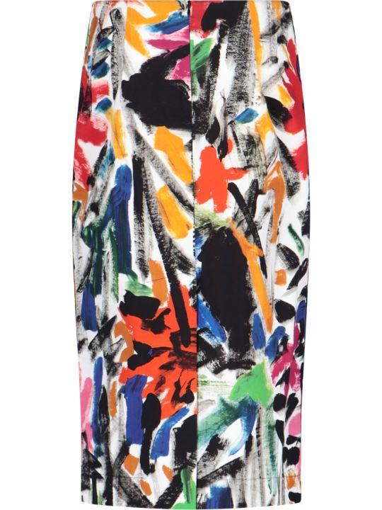 Marni Carmen Print Pencil Skirt