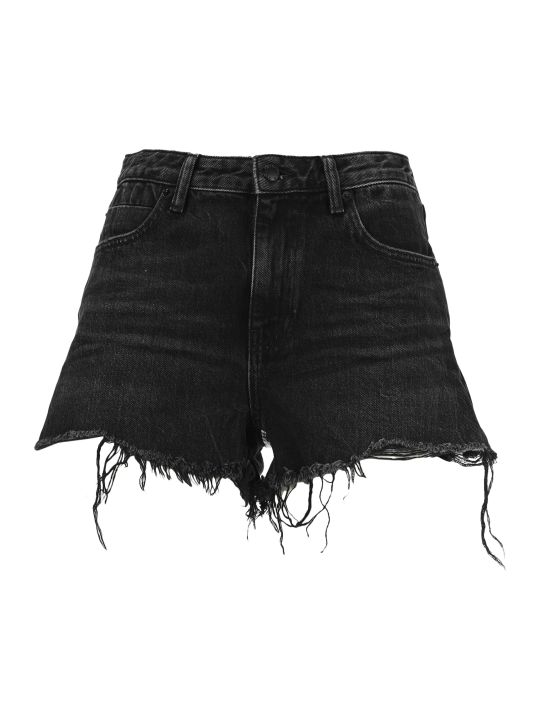 T by Alexander Wang Frayed Hem Shorts
